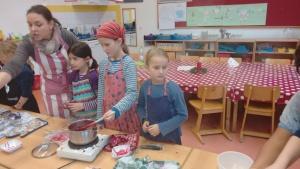 Marmelade kochen